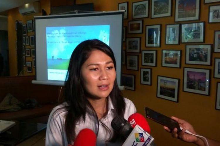 Vice President Corporate Communication PT Pertamina (Persero) Wianda Pusponegoro.