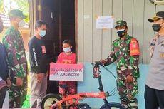Jokowi Berikan Sepeda Lipat untuk Vino, Bocah yang Yatim Piatu karena Covid-19