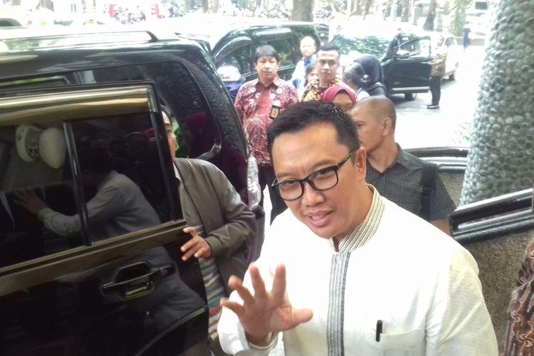 Menteri Pemuda dan Olahraga Imam Nahrawi ketika di Universitas Brawijaya, Kota Malang, Senin (5/11/2018)