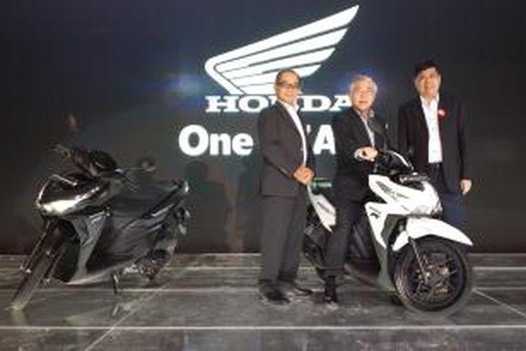 Peluncuran duet Honda Vario di Jakarta, Rabu (14/1/2015)