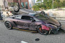 Video Lamborghini Hilang Kendali, Sebabkan Tabrakan Beruntun di Malaysia