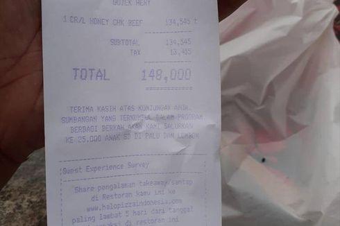 [VIRAL]: Seorang Wanita Non Muslim Belikan Pizza buat Pengemudi Ojol Buka Puasa