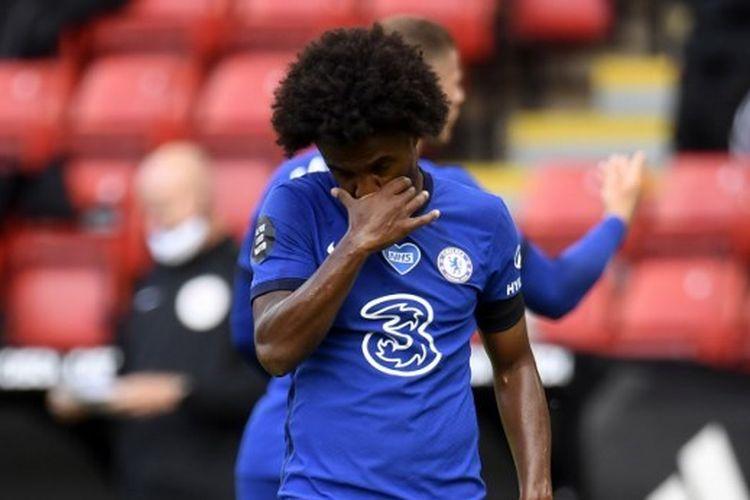 Laga Sheffield vs Chelsea pada lanjutan pekan ke-25 Liga Inggris, Sabtu (11/7/2020) malam WIB.