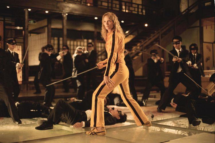 Onitsuka Tiger Tai Chi dipakai dalam film Kill Bill