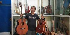 Kisah Usaha Pengrajin Gitar di Aceh, Menjaga Kualitas Sambil Meraup Untung