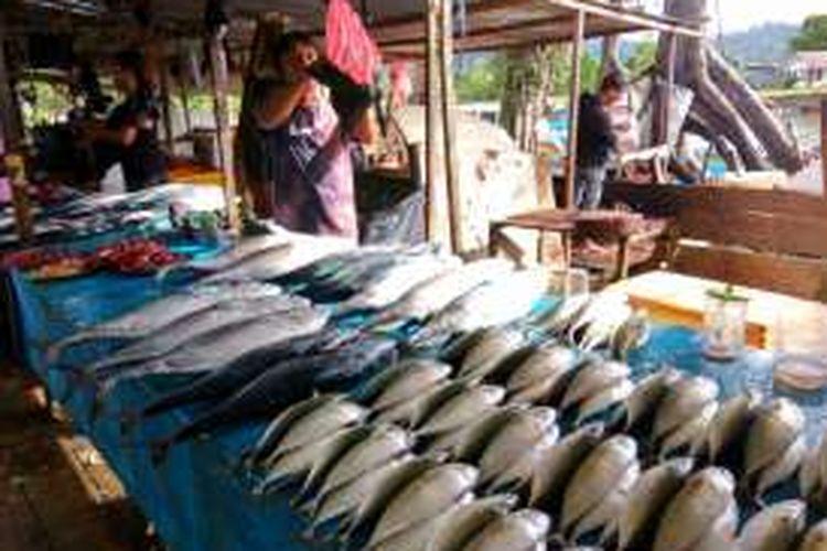 Pasar Waisai, Raja Ampat.