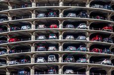 Uji Coba Tarif Parkir Tertinggi Mobil Tak Lulus Uji Emisi di Parkir Samsat Daan Mogot Berlaku Minggu Ini