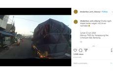 Video Viral Pikap Halangi Laju Mobil Pemadam Kebakaran di Bandung, Ini Cerita Lengkapnya
