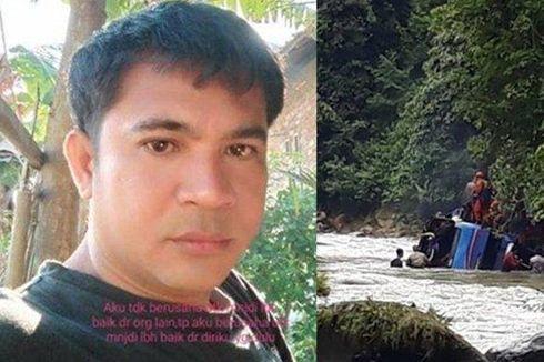 Ini Pesan Terakhir Ferri, Sopir Bus Sriwijaya yang Jatuh ke Jurang pada Ibunya
