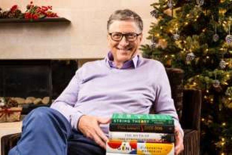 Bill Gates membuat daftar 5 buku terbaik yang ia baca selama 2016.