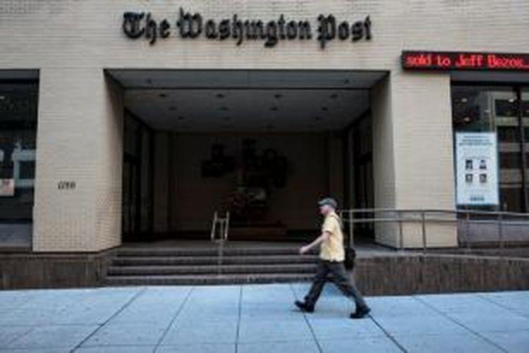 Kantor pusat harian The Washington Post.