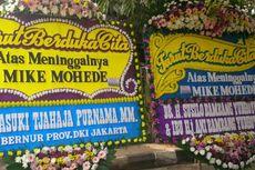 Ahok dan SBY Kirim Karangan Bunga untuk Mike Mohede