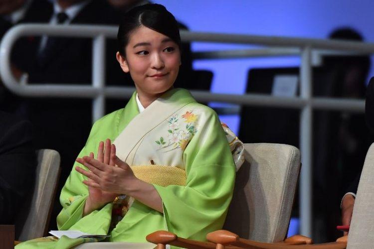 Putri Mako dari Jepang, cucu tertua Kaisar Akihito. (AFP/Nelson Almeida)