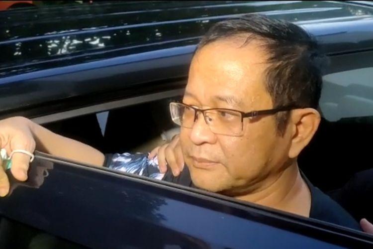 Ketum GNPK-RI Basri Budi Utomo ditahan Kejaksaan Negeri Tegal, Senin (17/5/2021)