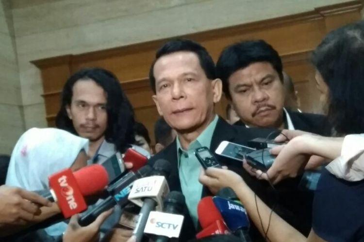 Anggota IV BPK Rizal Djalil di Gedung BPK Jakarta, Senin (21/5/2018)
