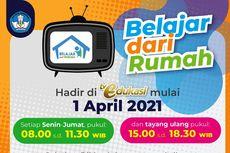 Mulai 1 April 2021, Tayangan BDR Ada di TV Edukasi