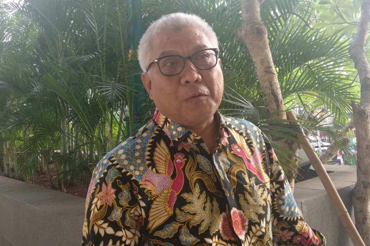 Dwi Wahyu Daryoto, Direktur Utama PT Jakarta Propertindo (Jakpro) yang baru saat dijumpai di DPRD DKI Jakarta, Rabu (11/7/2018).