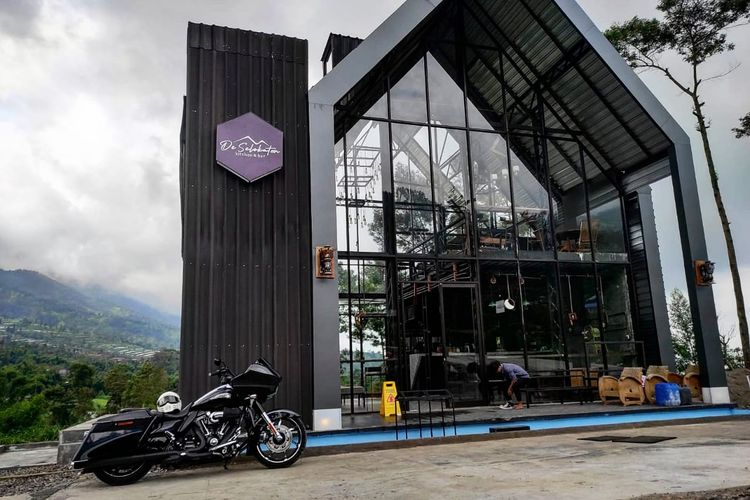 Kafe DeSeloKaton tampak dari depan