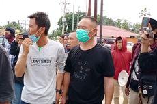 Massa Demo di Dekat Bandara Haluoleo Kendari Cegat Mobil Berisi 1 TKA China