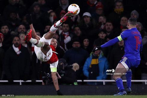 VIDEO - Arsenal Vs Olympiakos, Kegagalan Aubameyang Depan Gawang