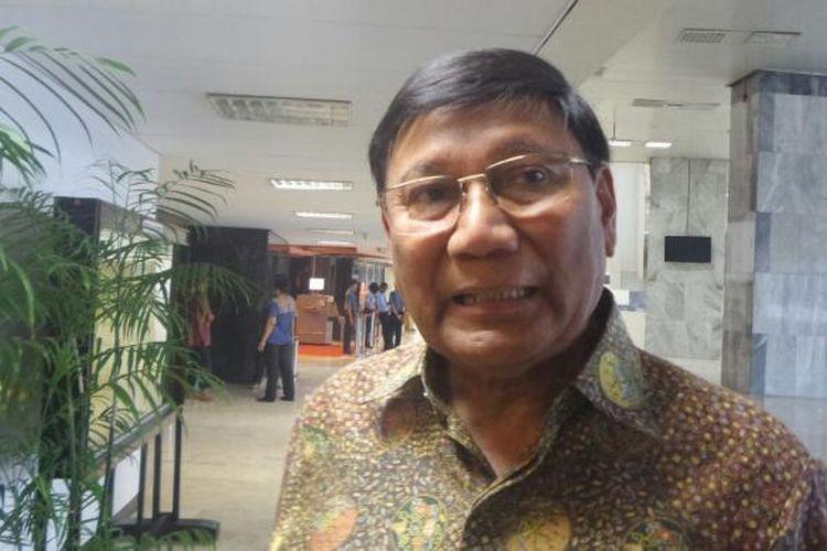 Wakil Ketua DPD RI Farouk Muhammad di Kompleks Parlemen, Senayan, Jakarta, Jumat (20/1/2017).