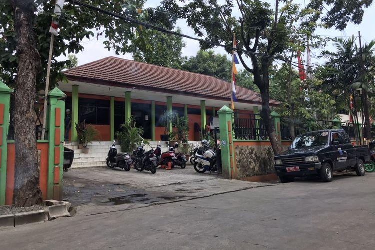 Kantor Satuan Pelaksana Lingkungan Hidup (Satpel LH) di Kelurahan Bangka, Kecamatan Mampang, Jakarta, Rabu (8/7/2020). Oknum PPSU Jumat (3/7/2020) merusak kantor Satpel LH.