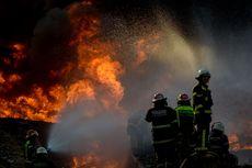 Kebakaran Dekat Tol Purbaleunyi,  Diduga Pipa Pertamina Terkena Proyek Kereta Cepat