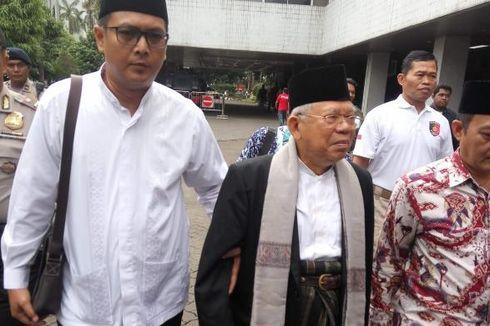 Isi Pertemuan Kapolda, Pangdam Jaya, dan Luhut di Rumah Ma'ruf Amin