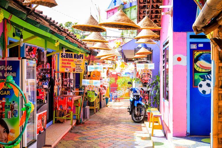 Kampung Warna-warni Jodipan, Wisata Keluarga di Malang