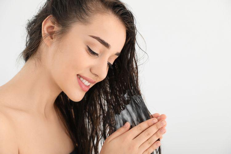 Ilustrasi perawatan rambut