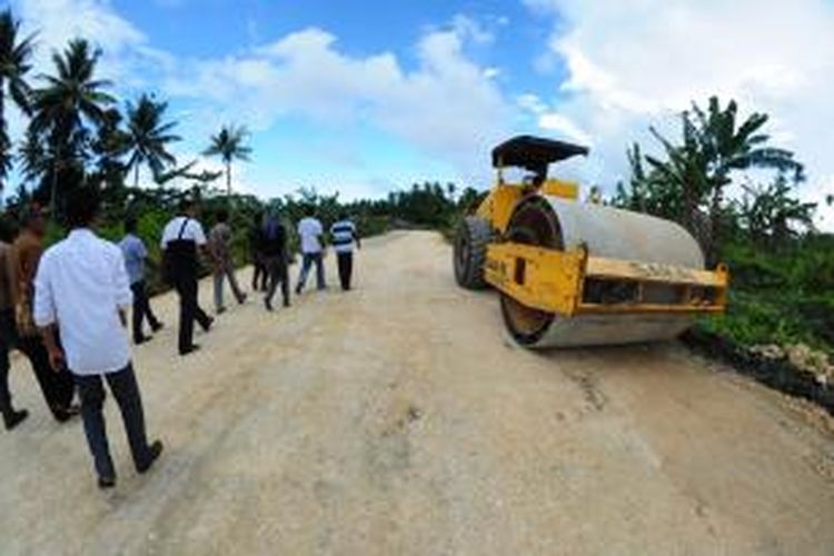 pembangunan infrastruktur di morotai