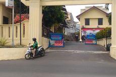 Markas Polda Lampung Batasi Akses Masuk Ojek Online