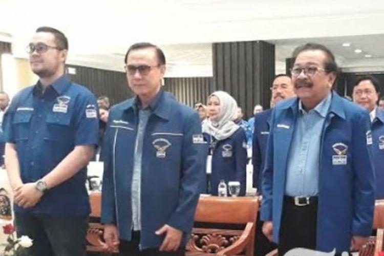 Partai Demokrat (PD) Jawa Timur menggelar Rapat Koordinasi Daerah (Rakorda) di Hotel Bumi, Jalan Basuki Rahmat, Surabaya, Sabtu (21/7/2018).