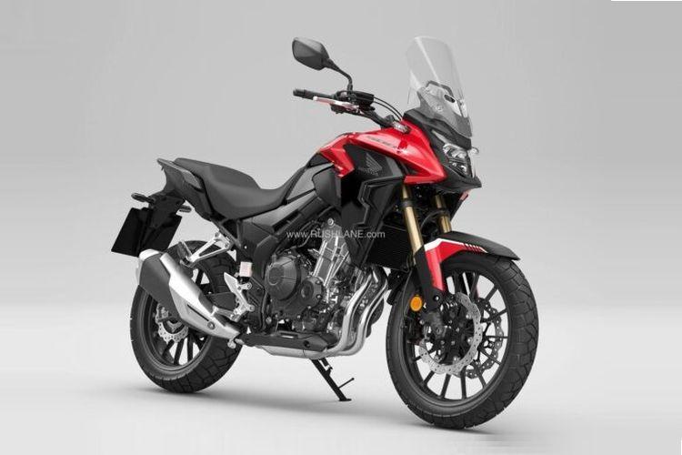 Honda melansir CB500F, CBR500R dan CB500X model 2022