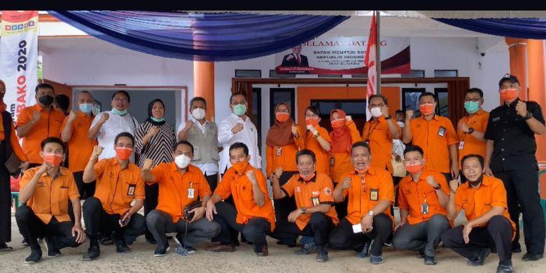 Penyaluran BST di Gunung Sugih Kabupaten Lampung Tengah