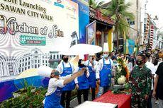 Terapkan Prokes dan PPKM di Kesawan City Walk, Pemkot Medan Lakukan Ini