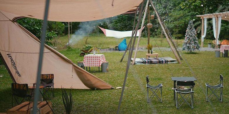 Info Terkini, 5 Kegiatan Seru di Camp Coffee & Nature Yogyakarta, Makan Sambil Kemah