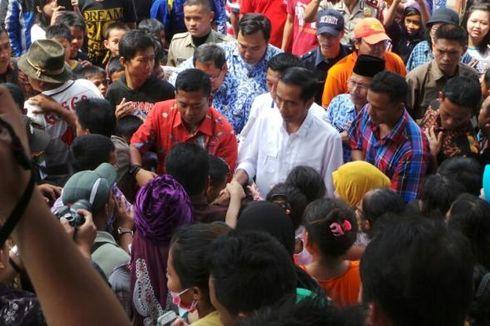 Usai Resmikan Pasar, Jokowi Borong Ubi dan Singkong