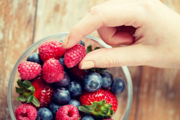 Ilustrasi buah berri