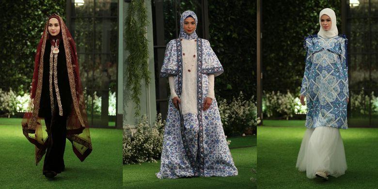 Koleksi busana premium dari Mandjha Hijab by Ivan Gunawan.