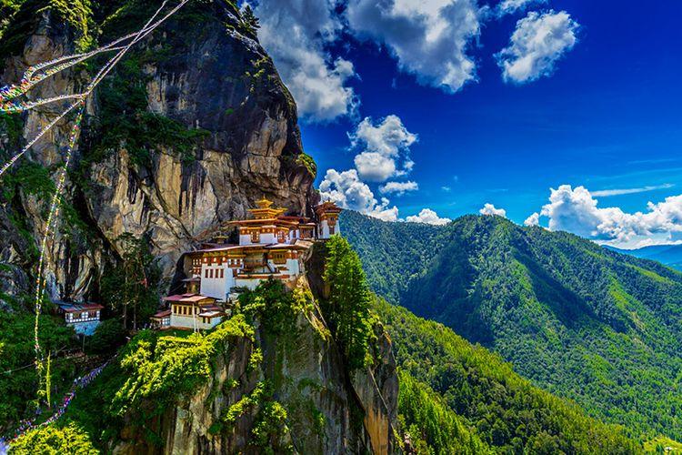 Taktshang Goemba, Tiger nest monastery, Bhutan.
