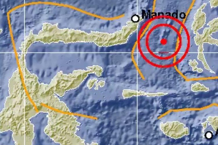Gempa bermagnitudo 7.0 mengguncang kawasan Ternate, Maluku Utara, Minggu (7/7/2019), pukul 22.08 WIB. Gempa berpotensi tsunami.