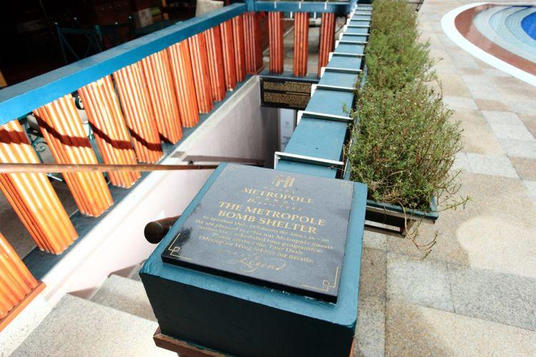 Bungker di Sofitel Legend Metropole Hanoi.