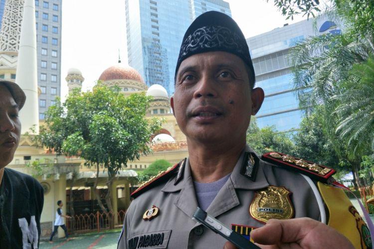 Dirlantas Polda Metro Jaya Kombes Halim Pagarra saat ditemui di Mapolda Metro Jaya, Jumat (2/2/2018).