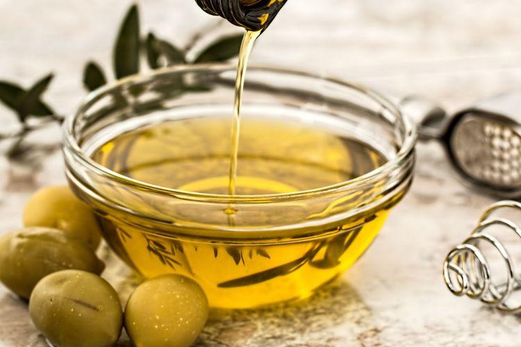 Ilustrasi minyak zaitun.