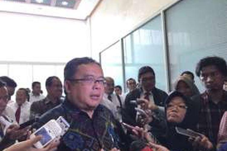 Menkeu Bambang Brodjonegoro di DPR, Senin (25/7/2016).