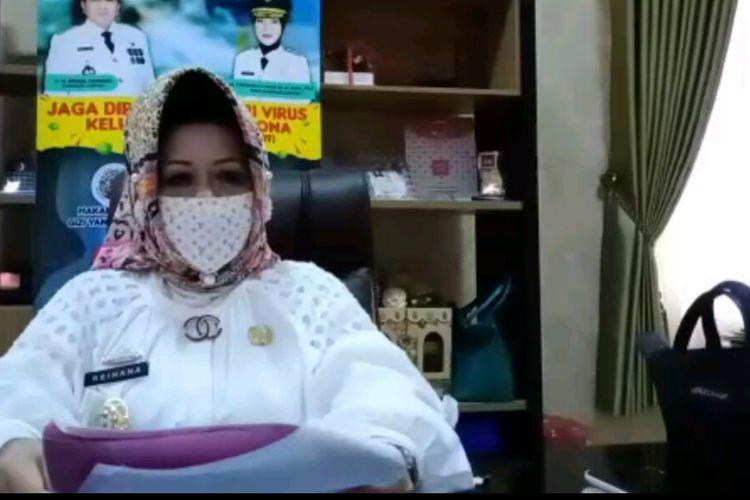 Juru Bicara Gugus Tugas Penanganan Covid 19 Lampung, dr Reihana.
