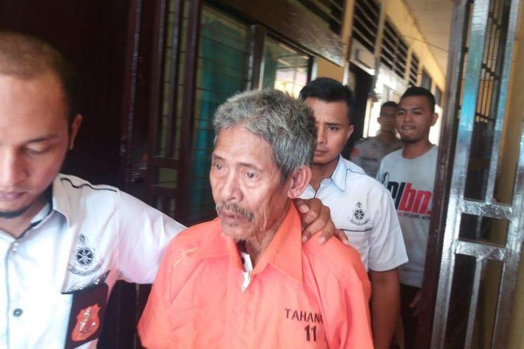 Atas perbuatannya, dukun Jago mendekam di tahanan Polres Tolitoli, Rabu (8/8/2017).