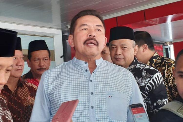 Jaksa Agung Sanitiar (ST) Burhanuddin di Kompleks Kejagung, Jakarta Selatan, Jumat (6/3/2020).