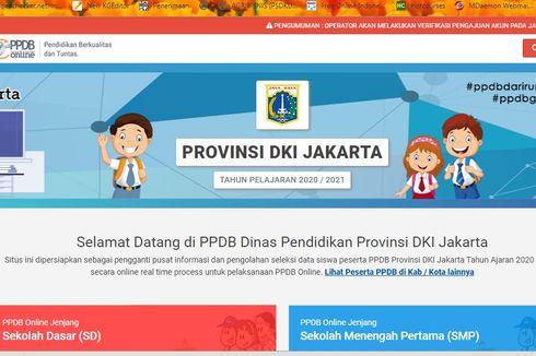 Ini Hasil Sementara PPDB Jakarta Jalur Zonasi